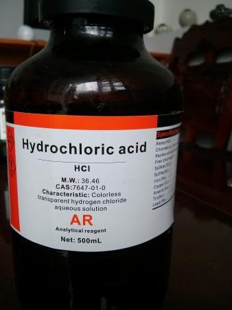 Công dụng của Axit HCL trong đời sống