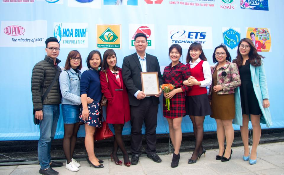 Hóa chất ETS – Tự hào TOP 50 thương hiệu uy tín ngành Hóa chất Việt Nam năm 2016