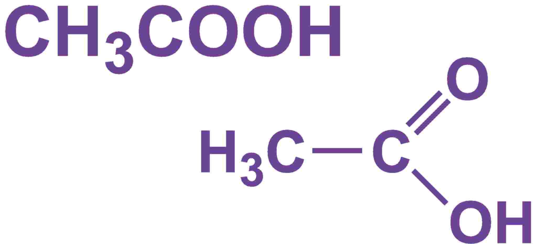 Axit axetic (CH3COOH) và các muối và este của nó