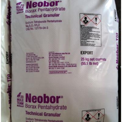 Borax (N2B4O7.5H2O)