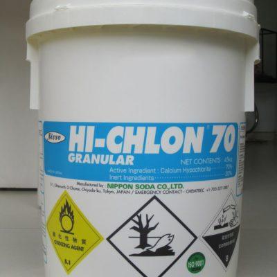 Clorin –  Ca(OCl)2  – Clorua vôi